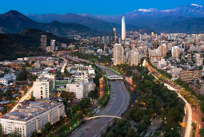 The Bellavista neighborhood in Santiago brings a variety of craft and clothing shops together with international cuisine.