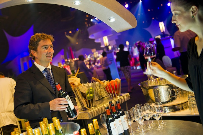 Enjoy live music and a posh dining experience at Epcot's Party for the Senses, held just five times over the course of the 87-day Epcot International Food & Wine Festival.