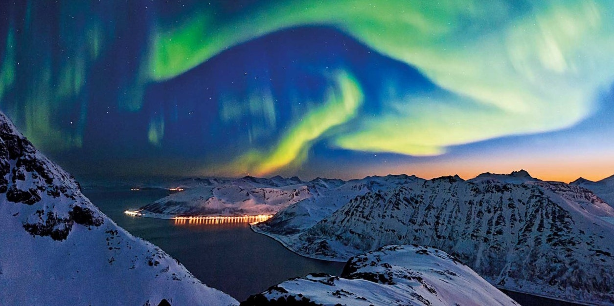 Hurtigruten's Northern Lights guarantee applies to cruises from Norway between October and March.