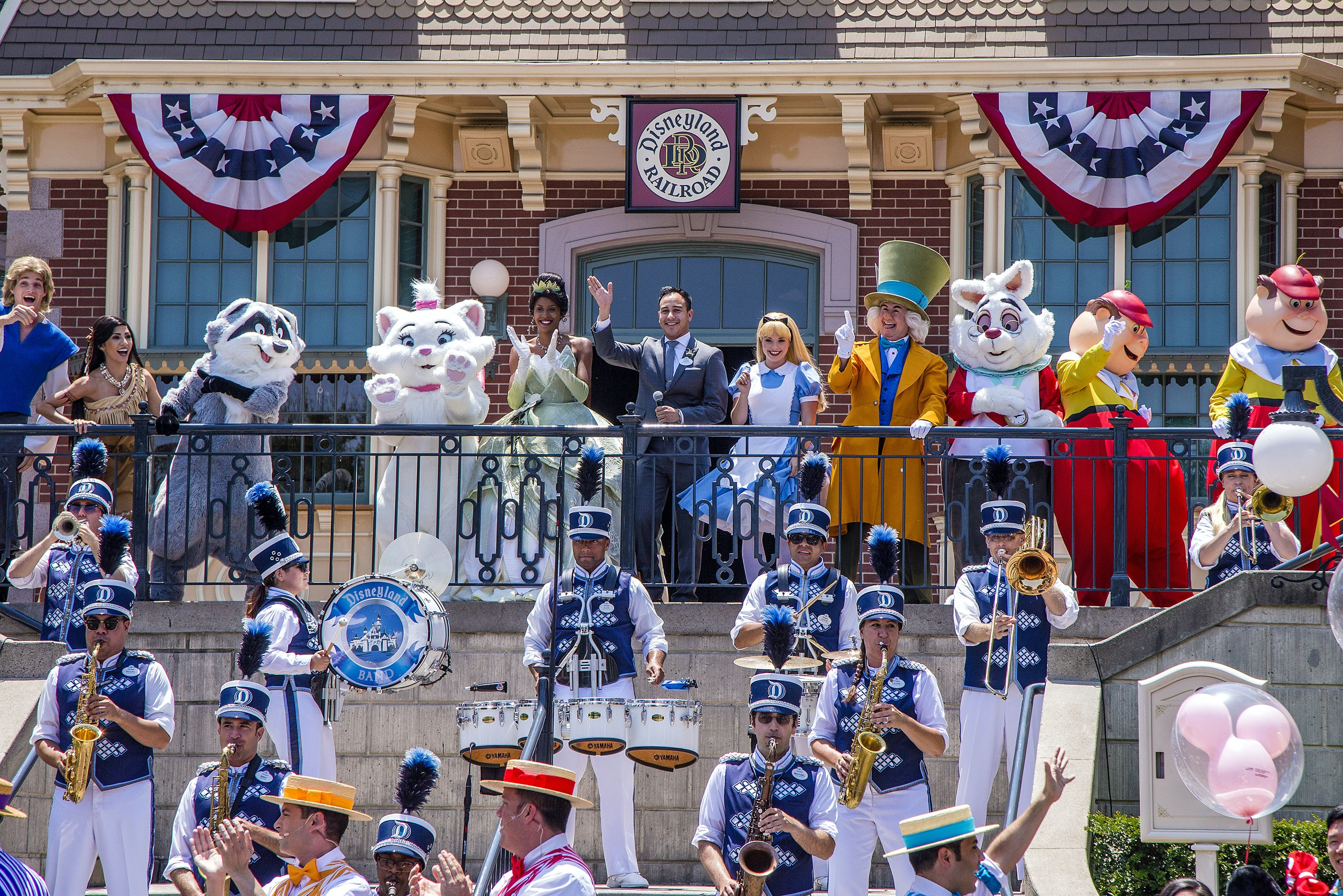 Parades and other celebrations are jubilant (and sometimes overwhelming) events at Disneyland.