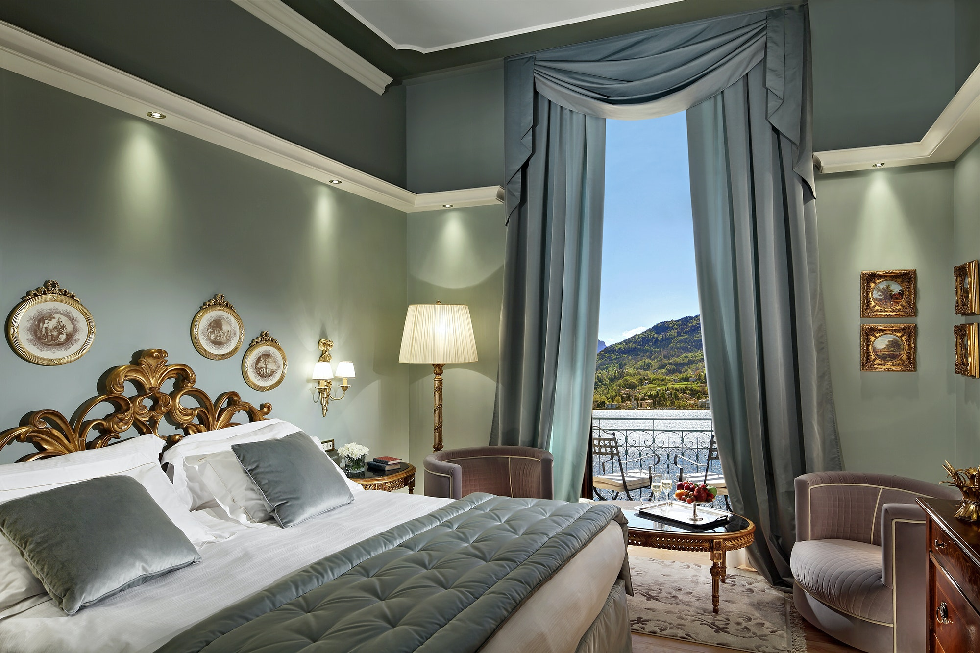 After finding a packet of love letters hidden in a wall, the owners of the Grand Hotel Tremezzo now leave copies of the notes on guests' pillows.