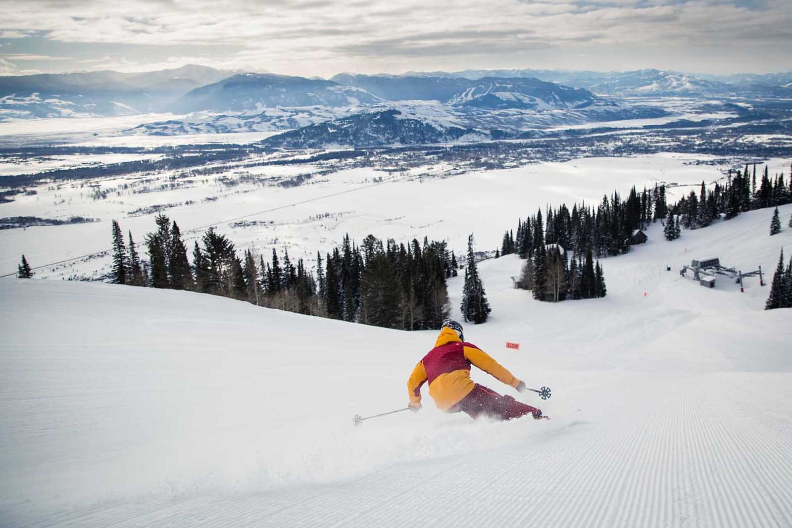 With winter slopes and summer hiking trails, Jackson Hole is a true four-seasons destination.