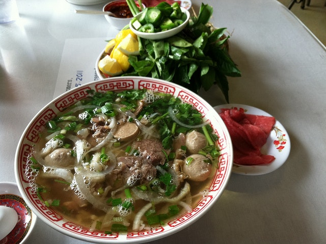 Solomonov could eat pho every day for the rest of his life.