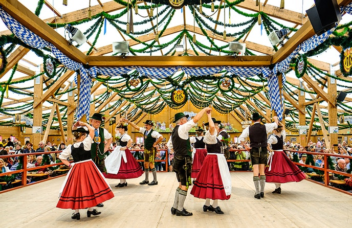 Oktoberfest takes place at Theresienwiese in Munich, from September 21 to October 6.