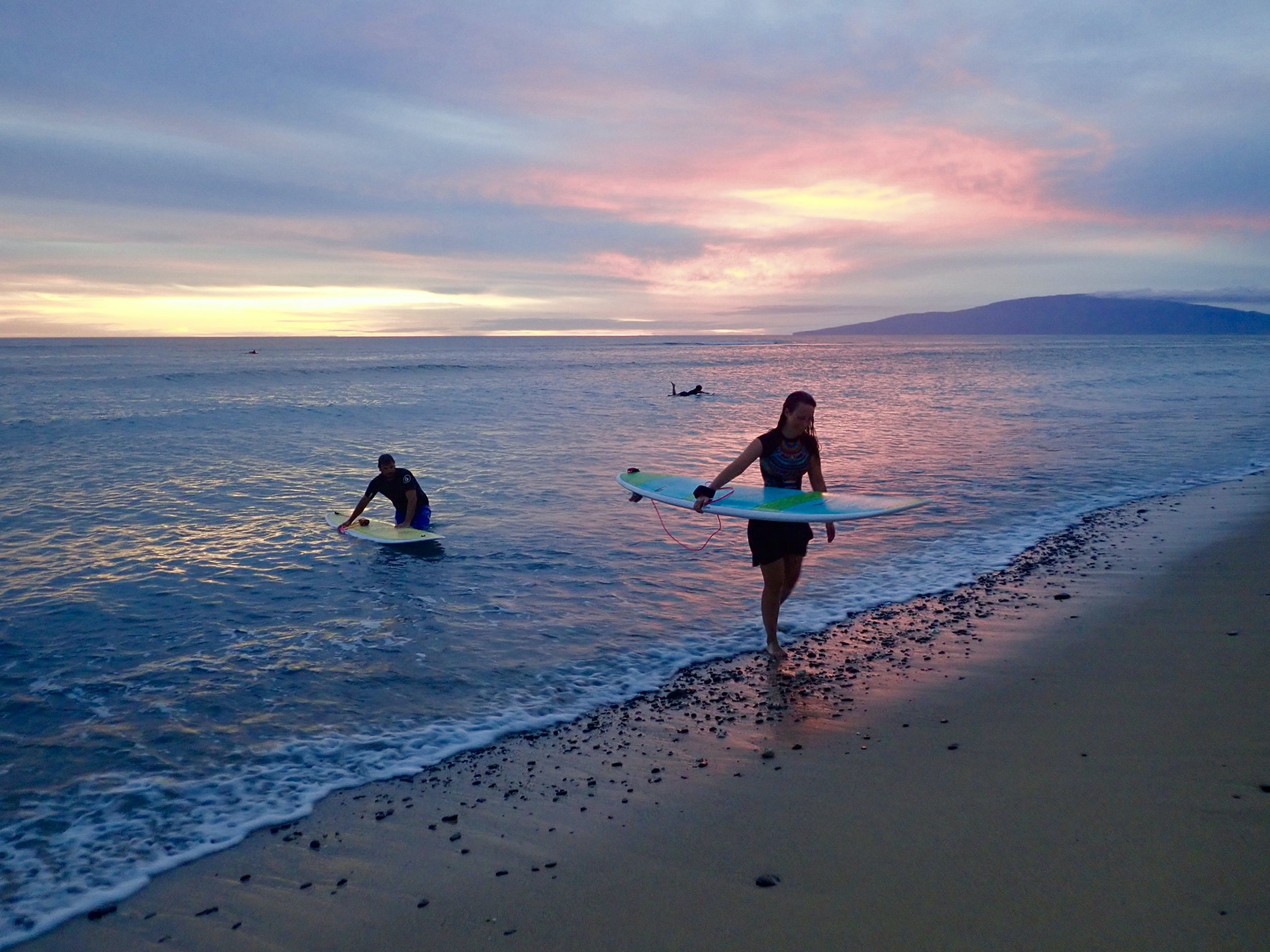 Find your perfect break along the coast of West Maui with a lesson from Soul Surfing Maui.