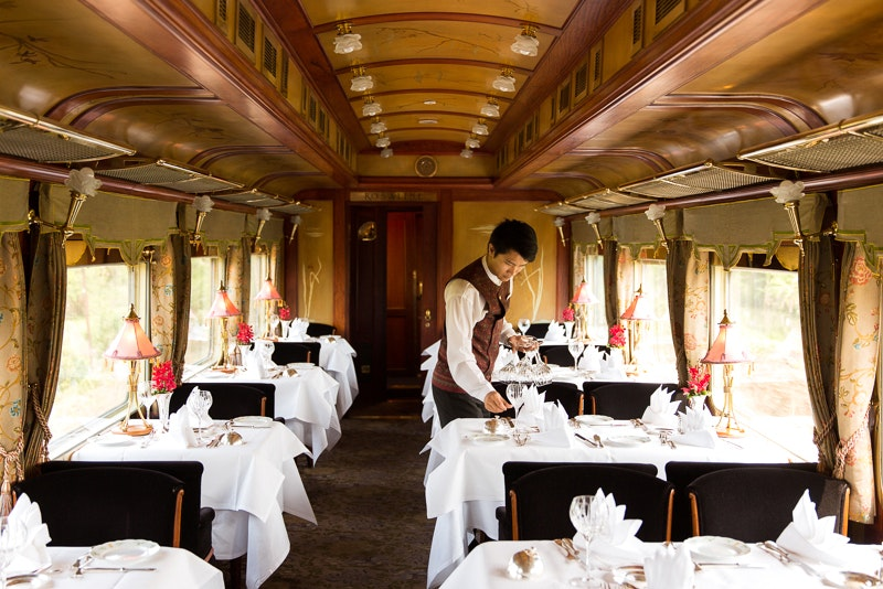 Enjoy classic elegance on the E&O Express with Goway.