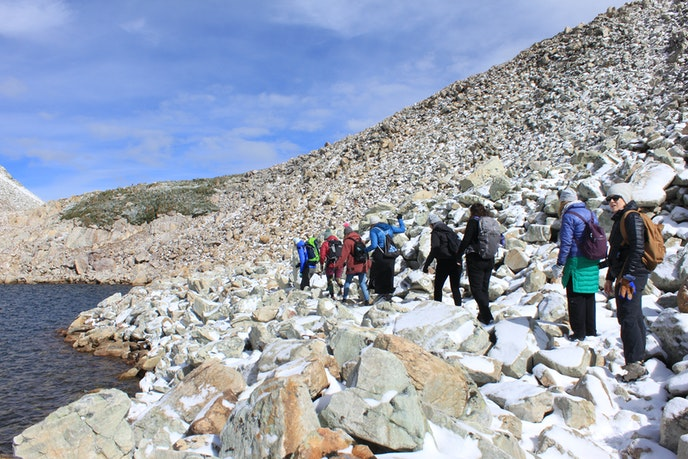Outfitter Hike Like a Woman takes adventurous female hikers on treks around Wyoming.