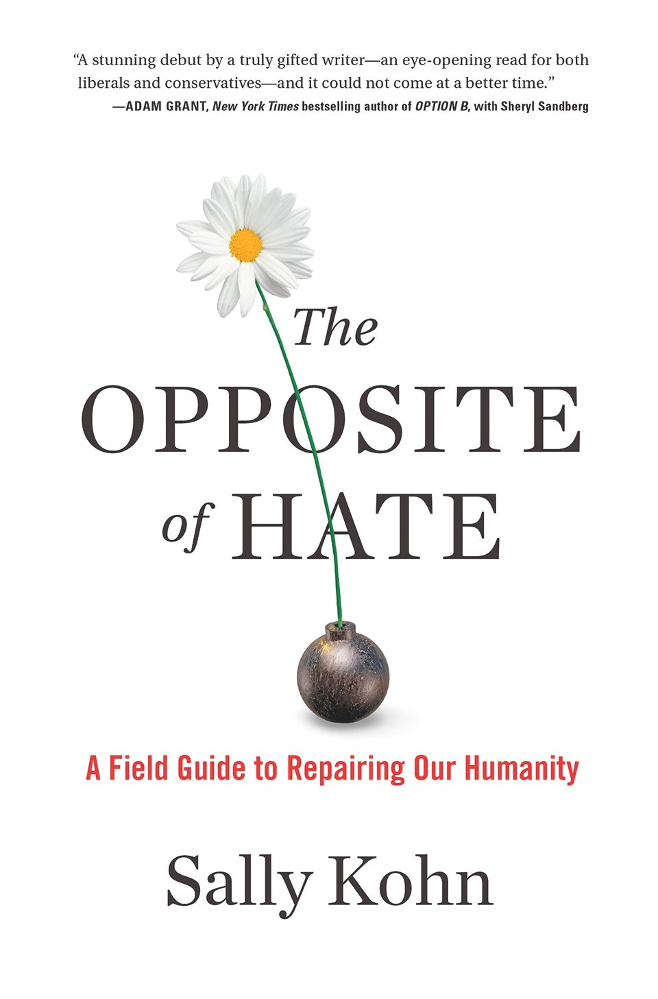 Sally Kohn explores how to eradicate hate in her debut book.