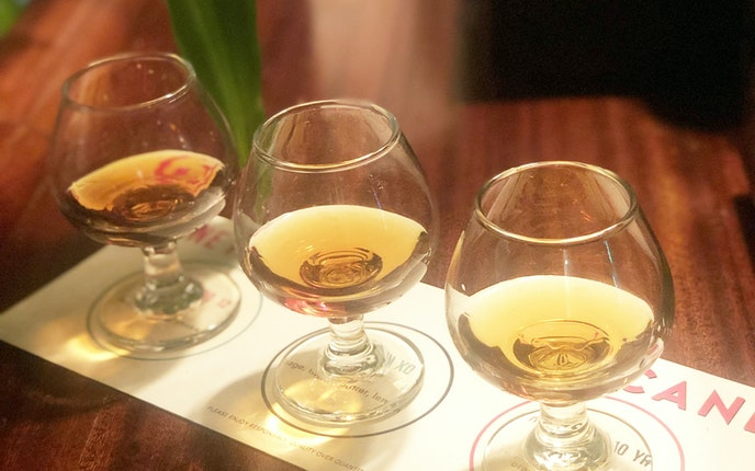 Surely you can find something you like from Cane Rhum Bar's selection of more than 80 rums.