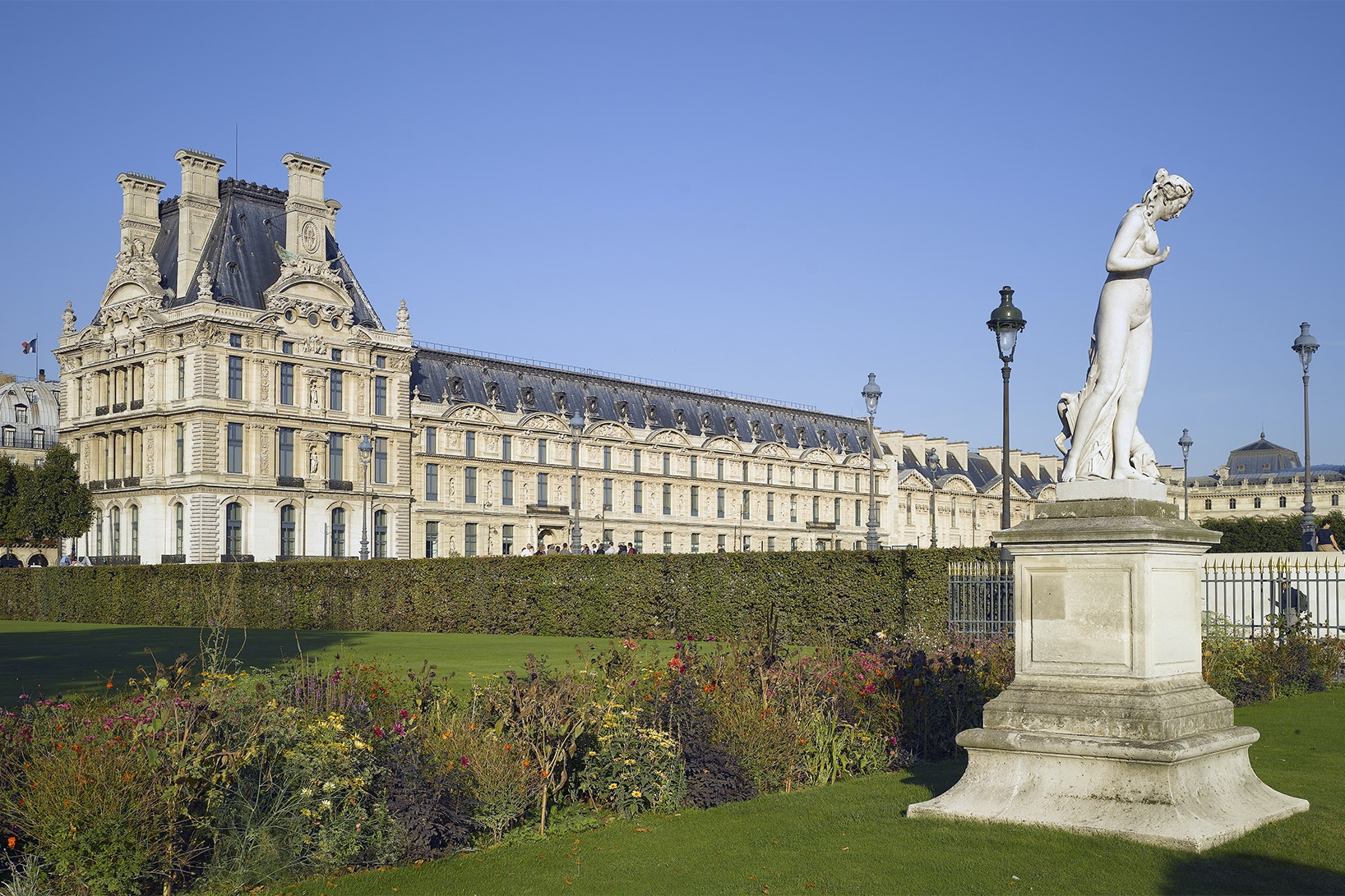 The 1st Arrondissement is home to Paris landmarks such as the Tuileries Garden.