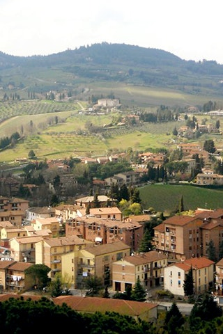 Rodriguez's Tuscan countryside