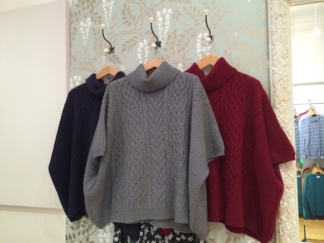 The sweaters at Brora