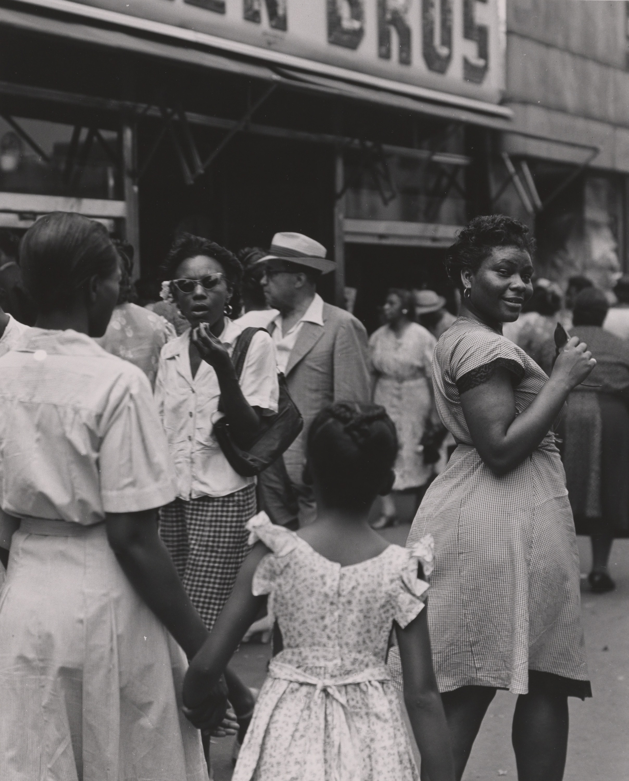 125th Street, Harlem, New York, 1946