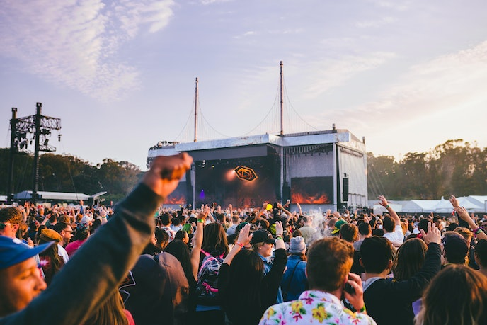 Outside Lands is as much about the local wine as the music.
