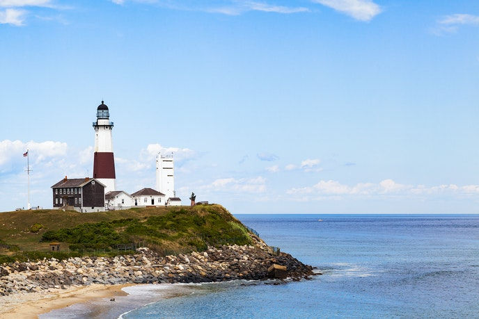 Montauk is a world away from its Hamptons neighbors.