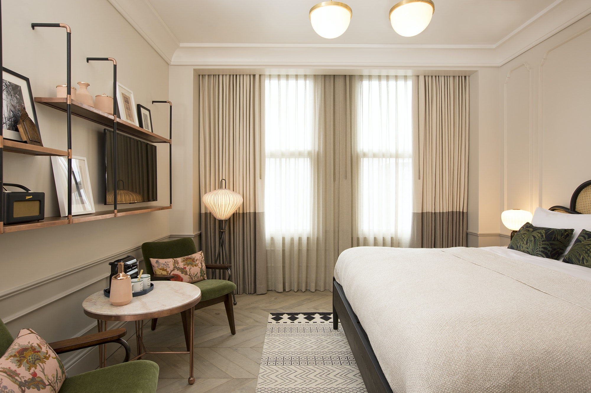 A sneak peek of the rooms at the upcoming Hoxton Hotel in Downtown L.A.