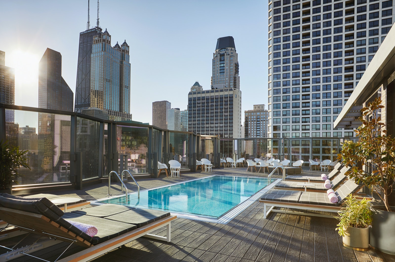 This Gold Coast hideaway is set on the 18th floor of the luxe Viceroy Hotel.