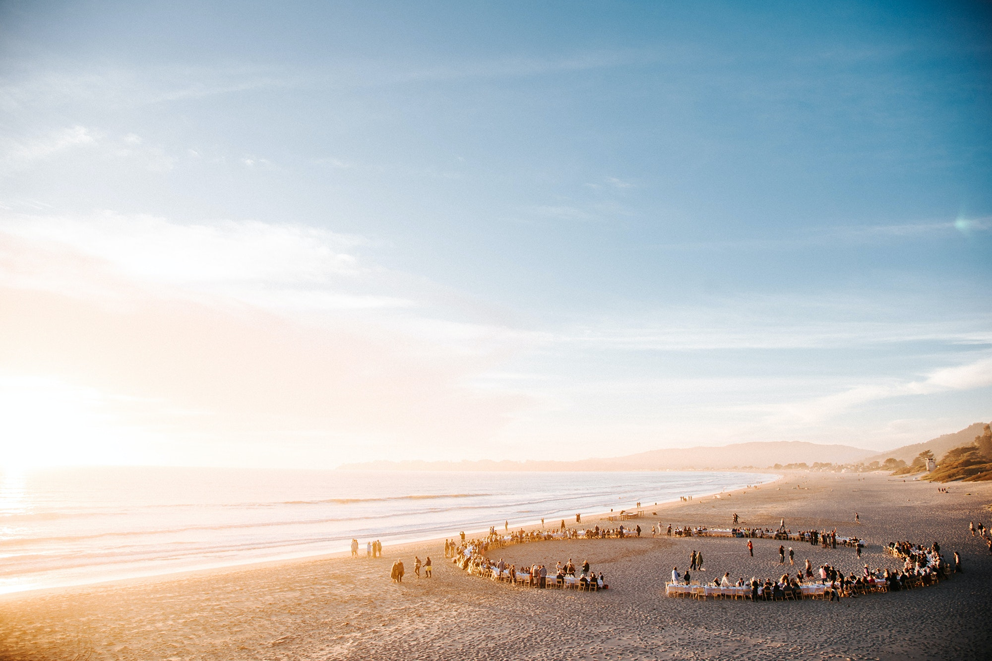 This year's event on Stinson Beach, near San Francisco, takes place on November 9.