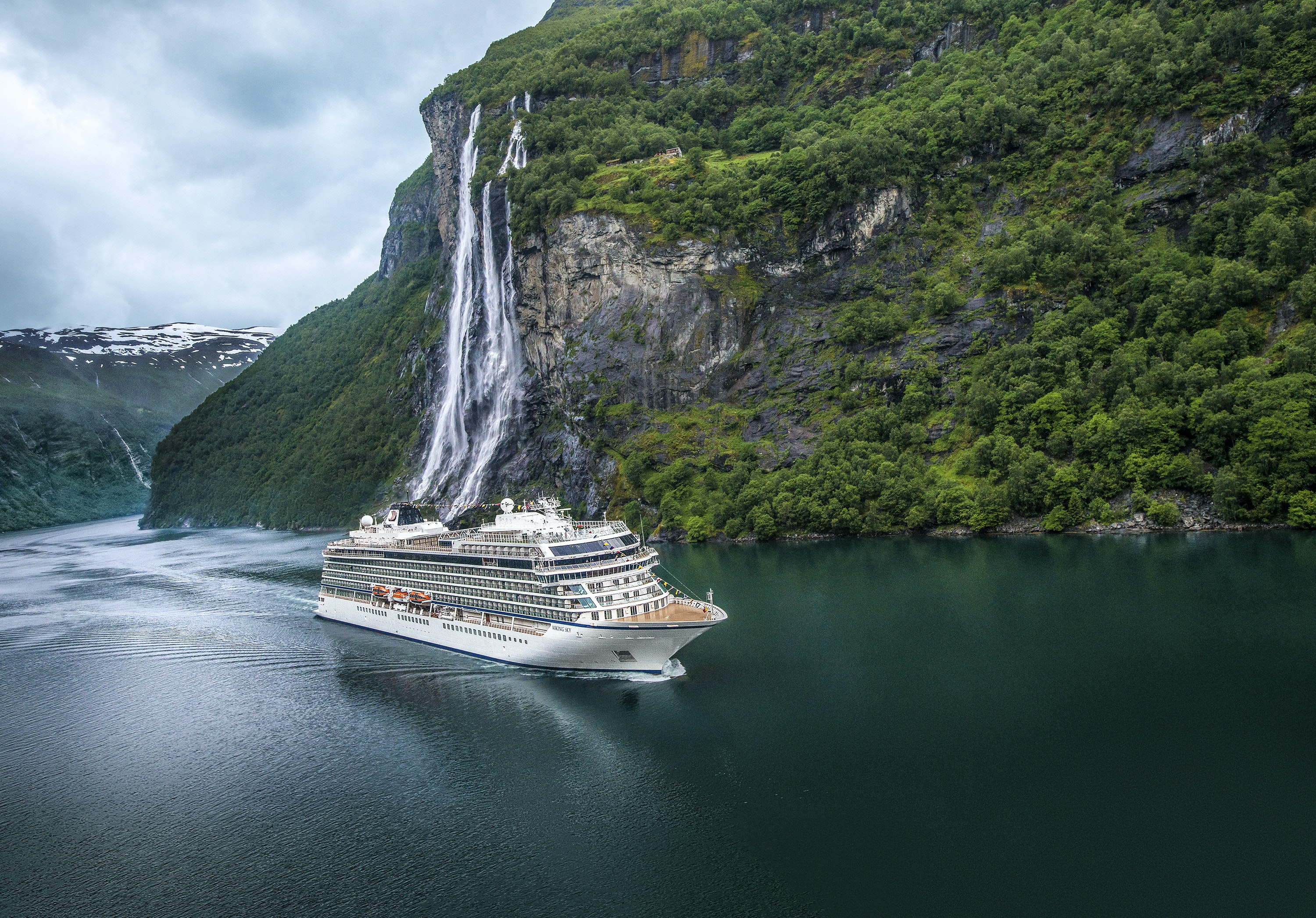 Viking earns a hat trick by winning Best Northern Europe Cruise Line, too.