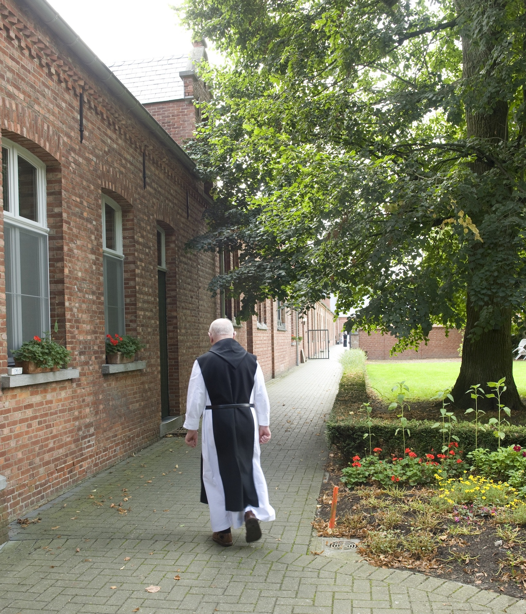 Trappist monks at Westmalle make beer as part of the life of prayer and work prescribed by Saint Benedict.