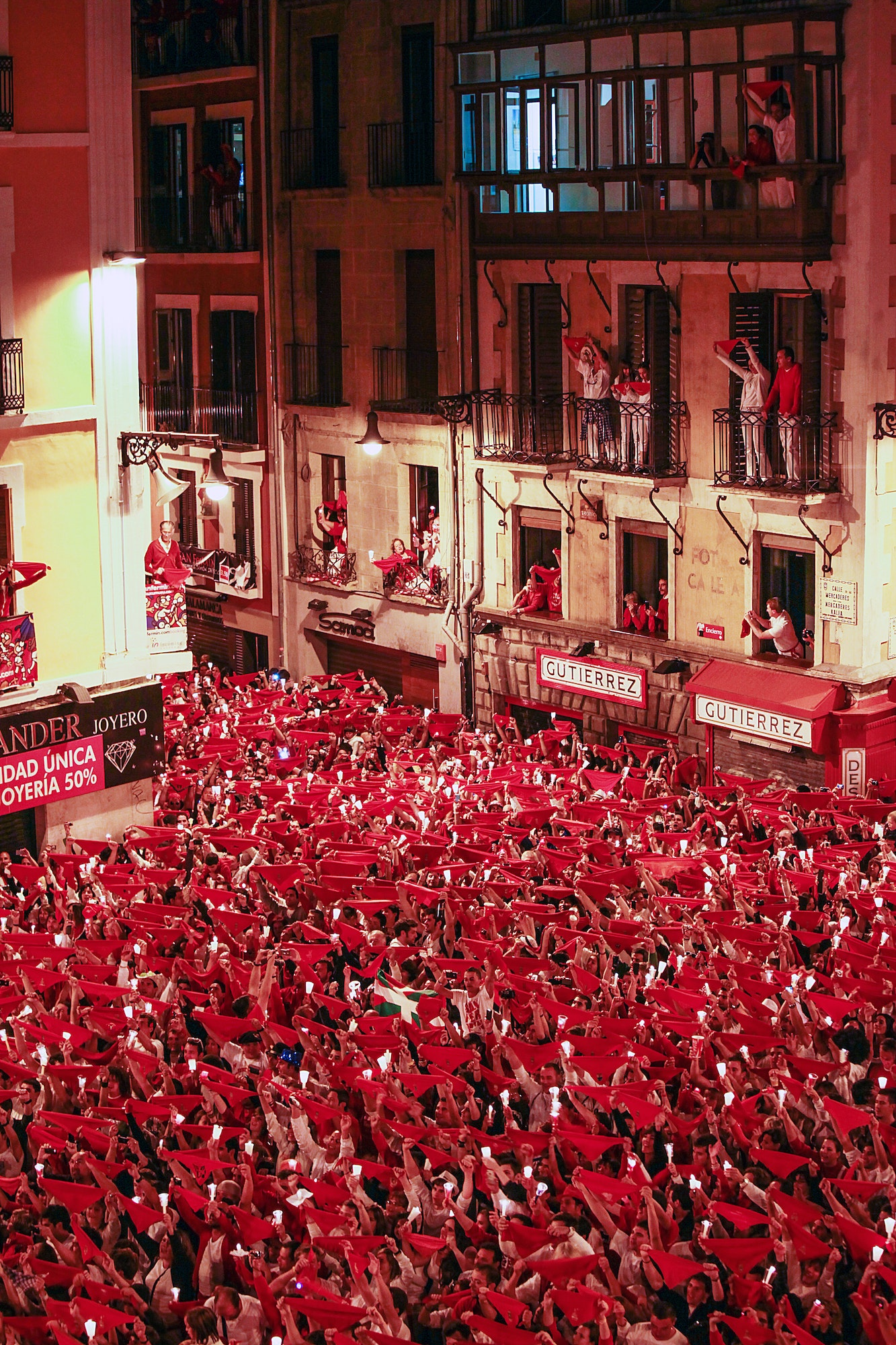 Tradition says festival-goers should only wear their red San Fermín scarves during the duration of the festival.