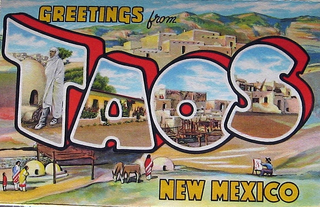 Gotta love a classic in-letter picture postcard from 1936.