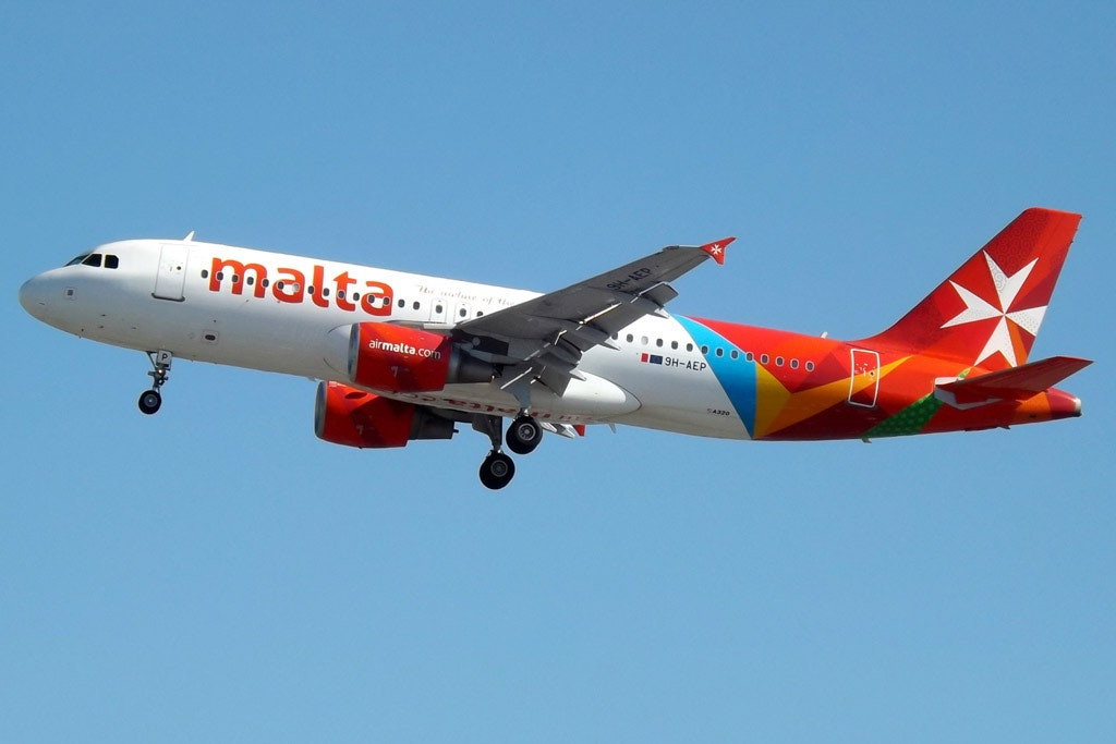 Air Malta introduced a new version of the livery seen here with Nickelodeon characters in June 2018.