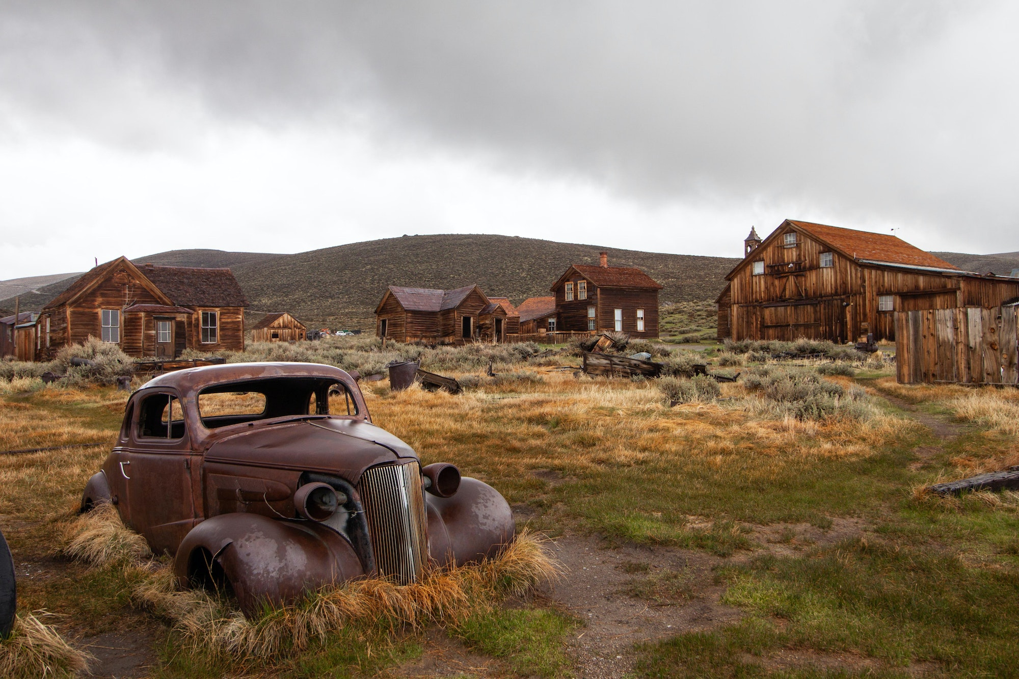Bodie was a booming mining town during the Gold Rush in California.