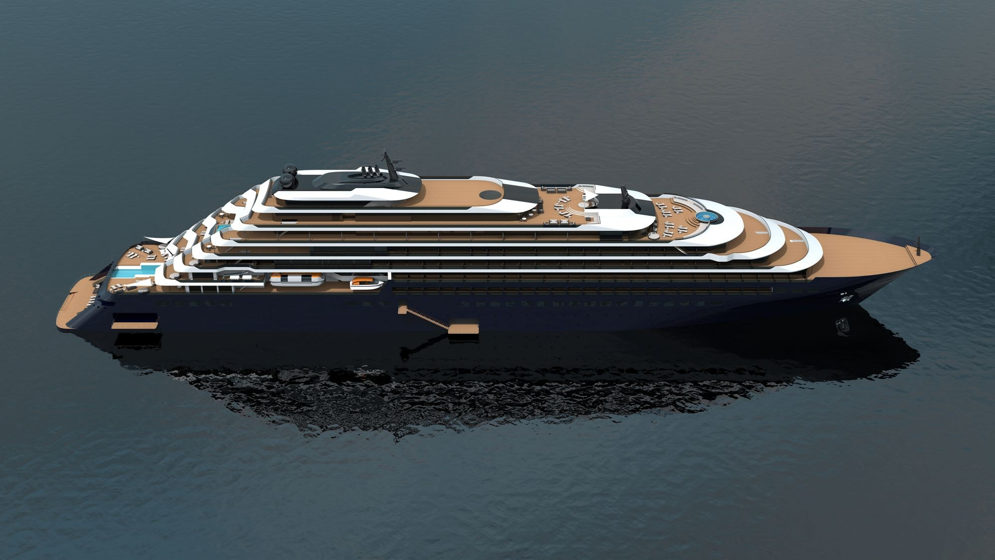 The first Ritz-Carlton Yacht Collection vessel will debut in 2019.
