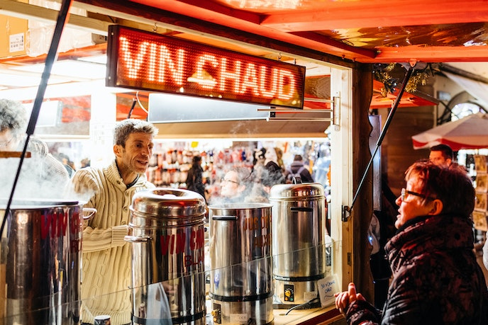 The French variant of mulled wine is called vin chaud.