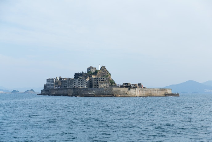 The now abandoned Hashima Island is considered a symbol of Japan's rapid industrialization.