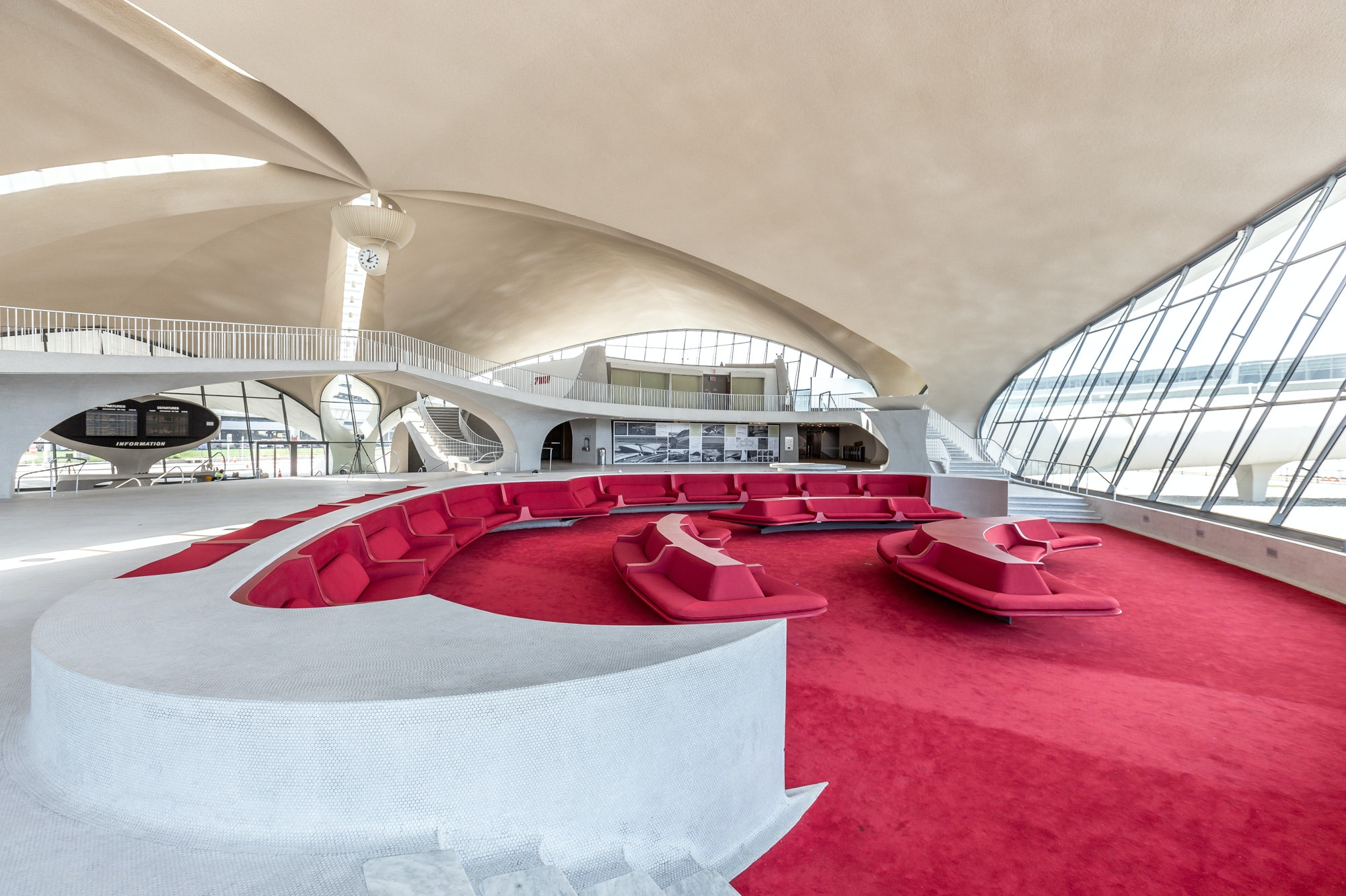 A Jean-Georges Vongerichten restaurant at the TWA Hotel will be located inside the historic terminal building in the space above The Sunken Lounge.
