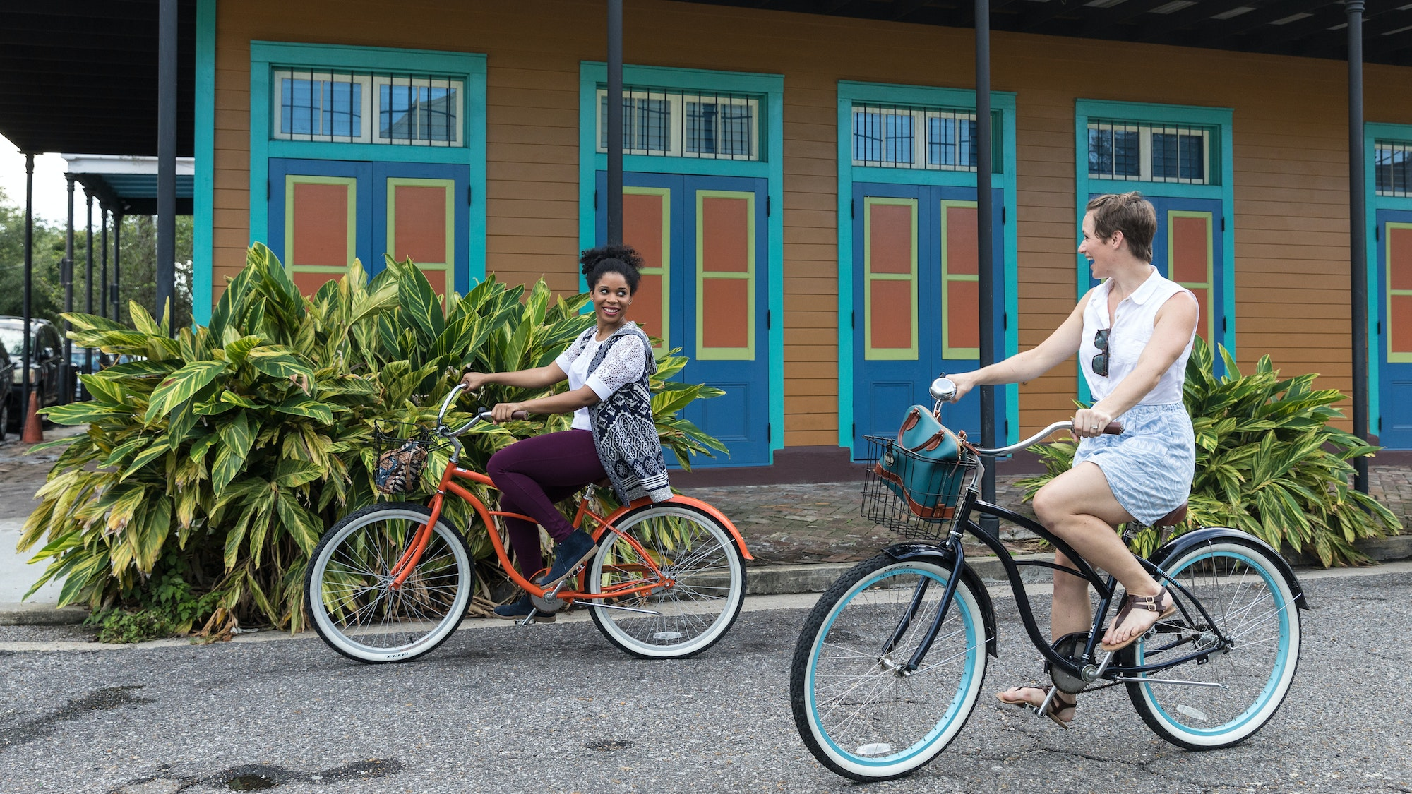 Go in search of New Orleans history on two wheels with FreeWheelin' Bike Tours.