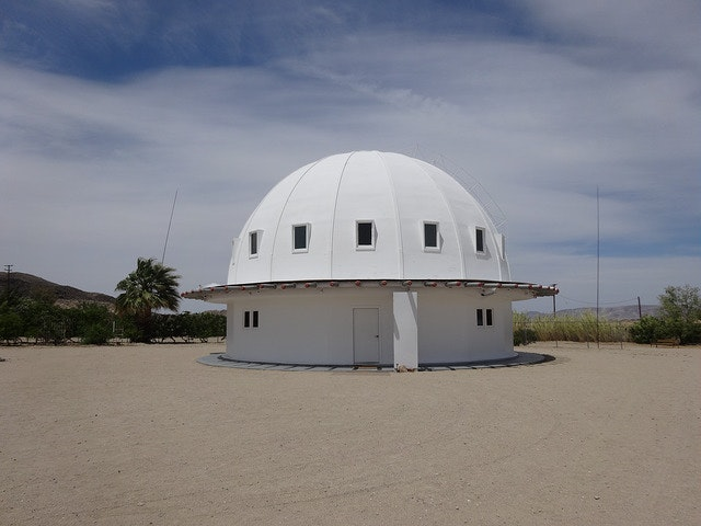 In the Mojave Desert not far from Joshua Tree National Park stands the Integratron.