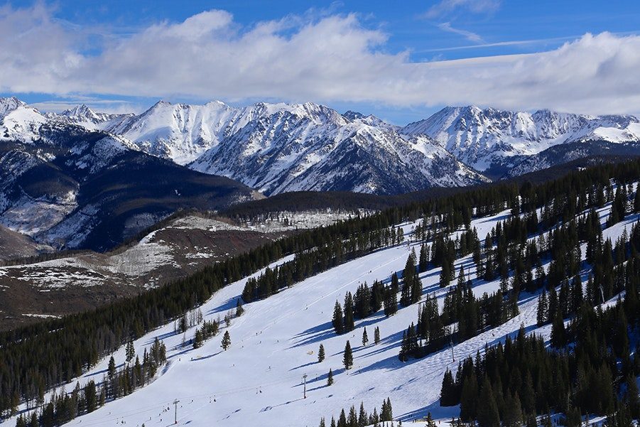 Not an expert skier? A winter trip to Vail isn't a lost cause. Almost 20% of Vail's skiing areas are for beginners.