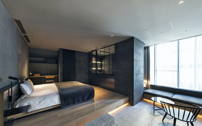 Hotel Koé draws guests with modern rooms and a slate of unique programming.