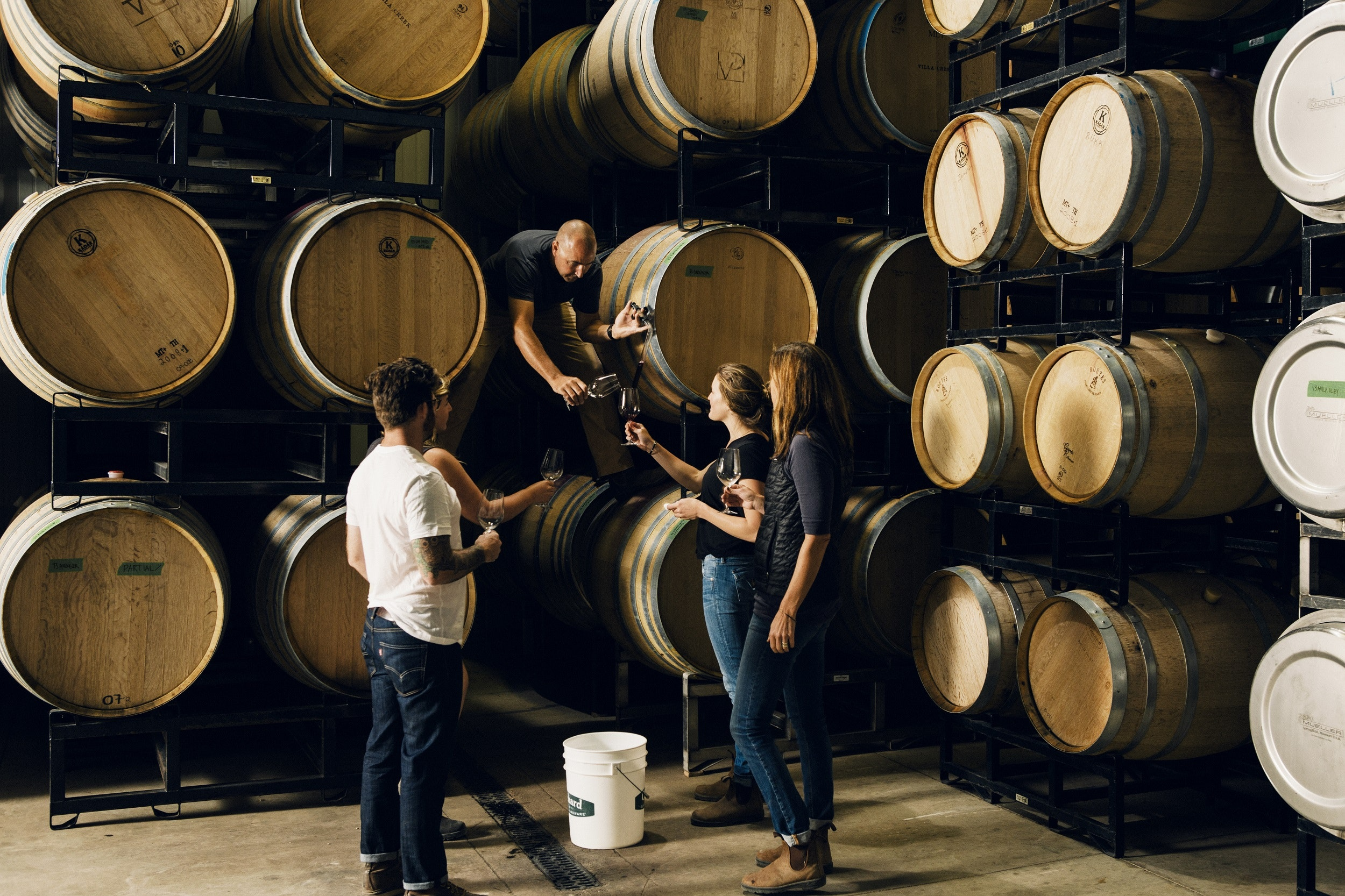 Villa Creek started as a restaurant over 20 years ago, but today focuses exclusively on its winery and 60-acre, organic- and biodynamic-certified Maha Estate.