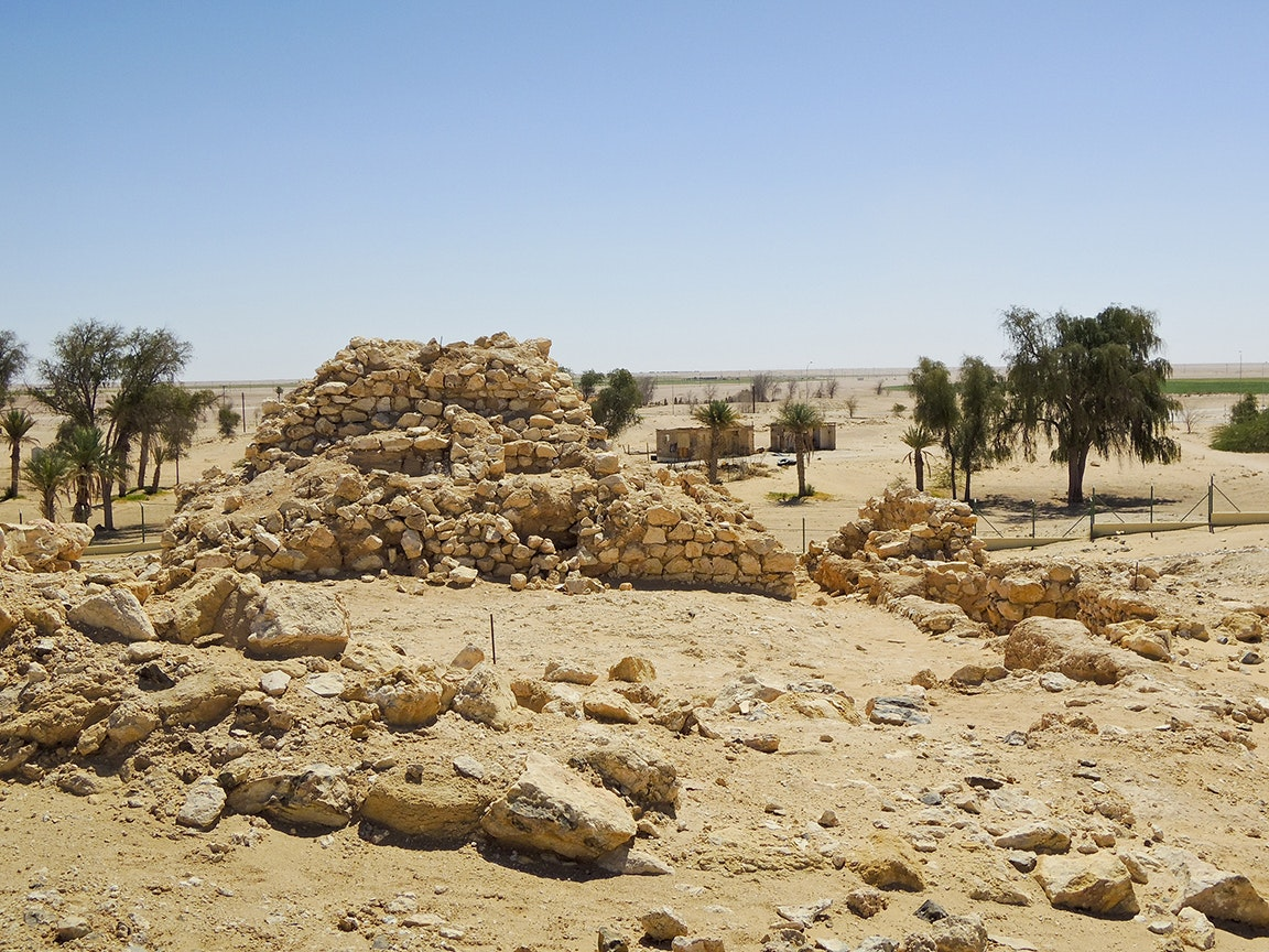 Ubar was untouched in the middle of the Arabian peninsula for nearly 1,000 years.