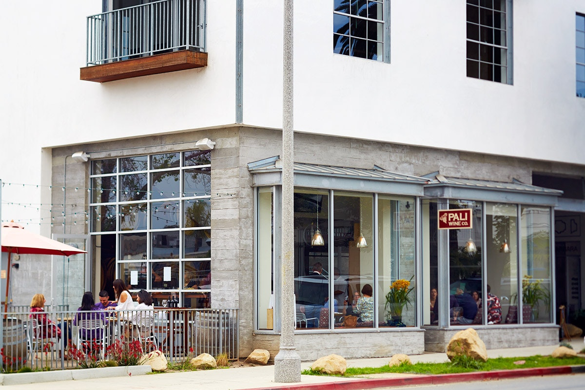 "Pali Wine Co.'s Santa Barbara tasting room is located in the ""Funk Zone"" just two blocks from the beach."
