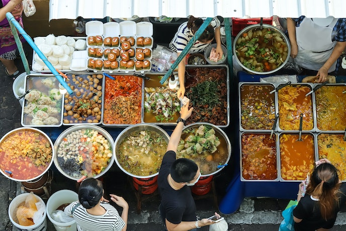 Give us all the Thai street food.