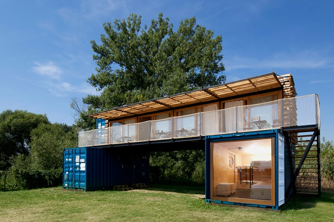 Part of the fun of the Czech Republic's ContainHotel is finding out where it's going to pop up next.