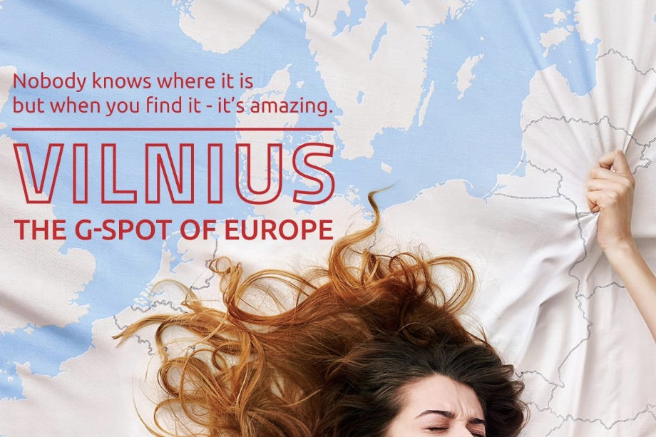 The official tourism slogan of Vilnius right now. Yes, really.