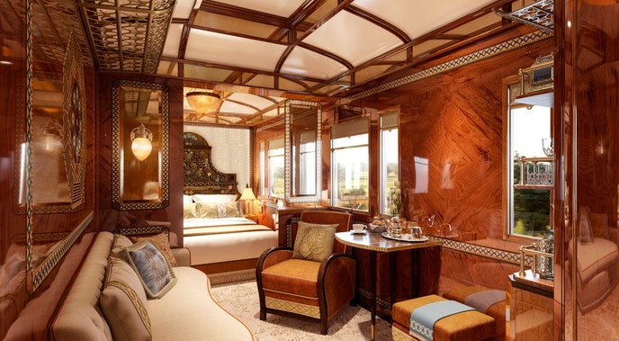 The Grand Suite Budapest shows Gothic and Ottoman influences.