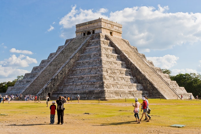 Chichén Itzá is the best known of numerous Mayan sites across the Yucatán region.