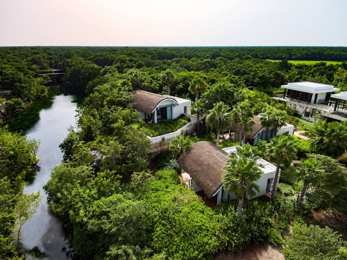 Use those World of Hyatt loyalty points for a relaxing retreat at Andaz Mayakoba.