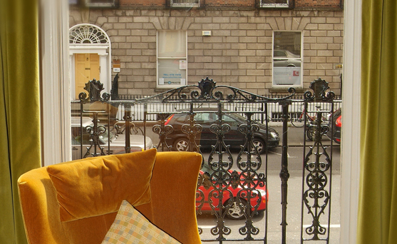 The street view from Number 31 in Dublin