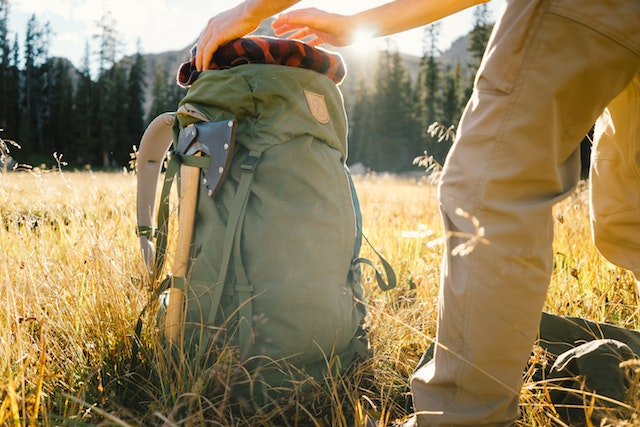During production, Fjällräven bags create 90 percent fewer emissions of CO2.
