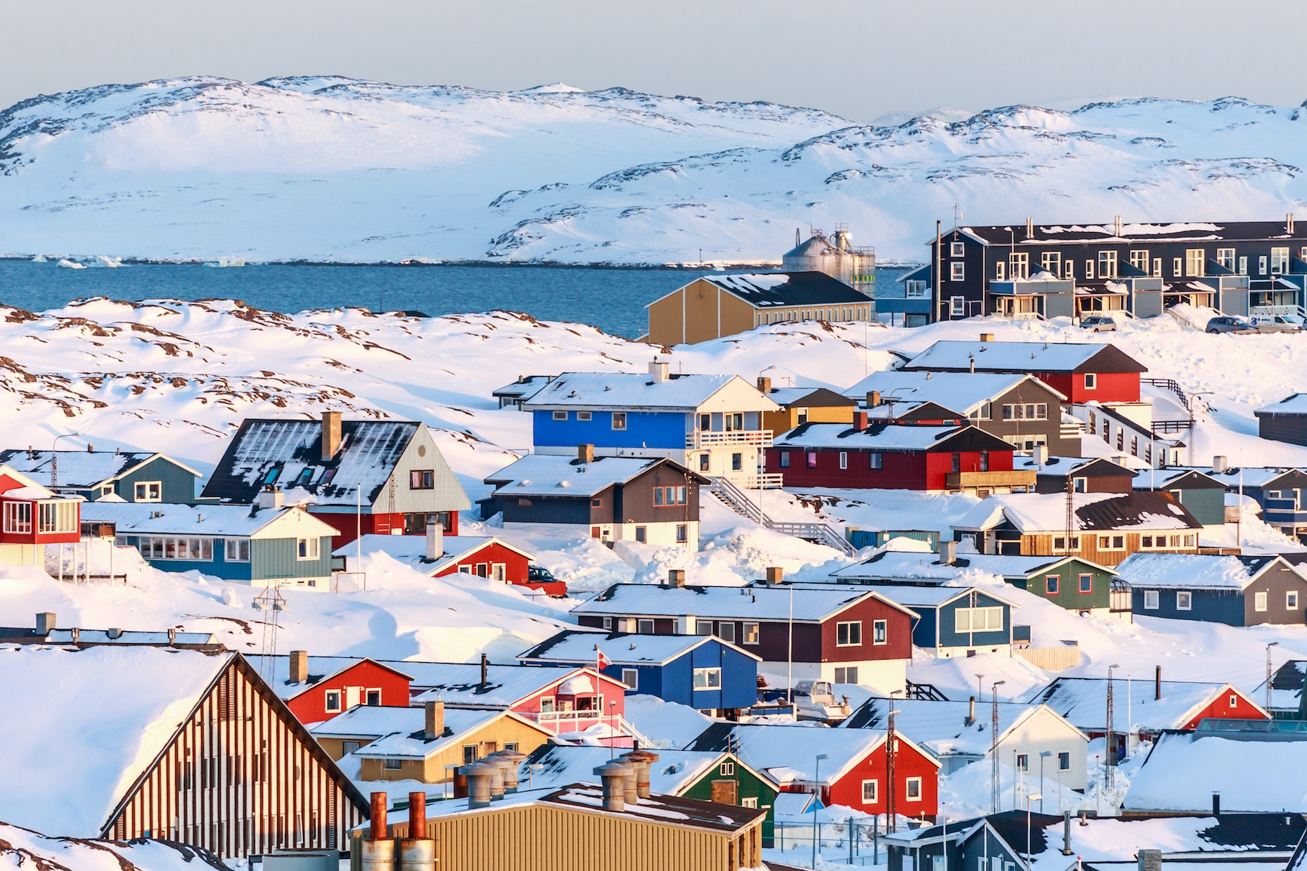 Cruise all the way up to Nuuk, Greenland, on a Princess cruise.