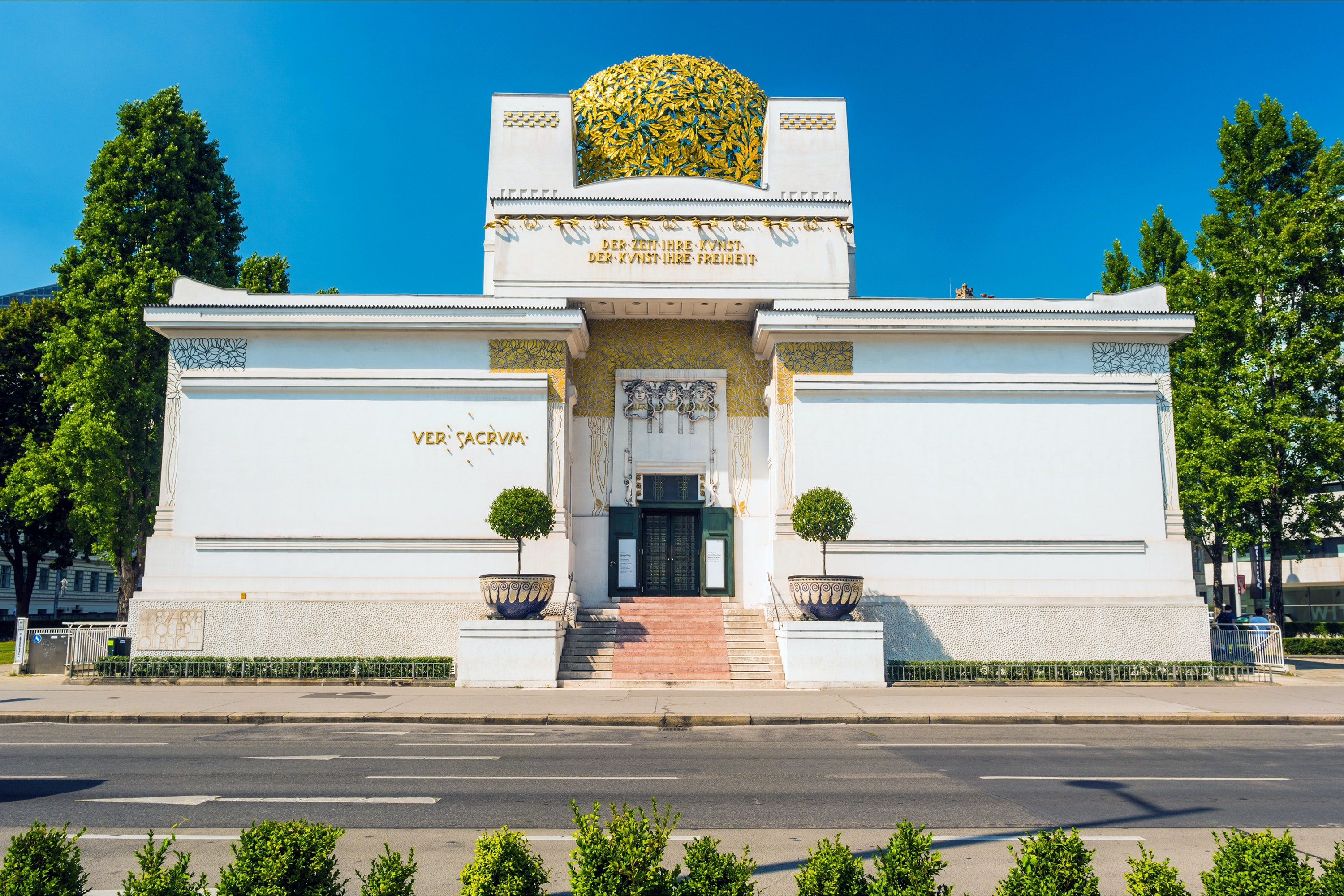 The Secession Building in Vienna was built in 1898 to display the works of secessionist artists.