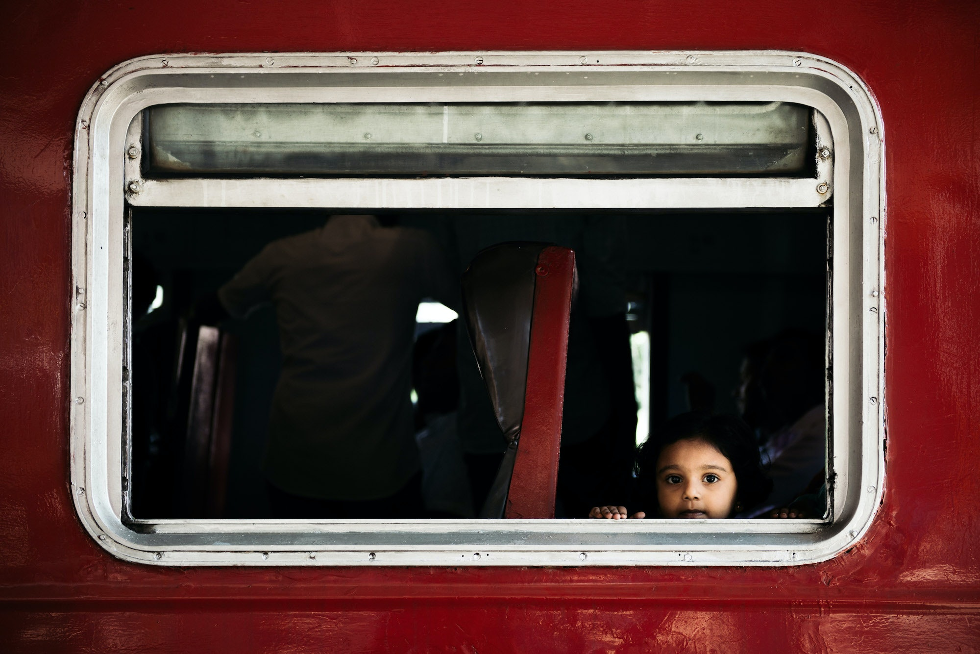"""""""This little girl's gaze melted my heart,"""" Rudd says. """"I waved, she blushed, we smiled, and our trains took off in opposite directions."""""""